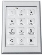 TA KEYBOARD - Electronic numerical combination lock with film keyboard